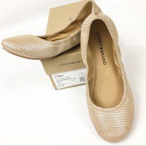Lucky Brand NIB Emmie Ballet Flats 6.5